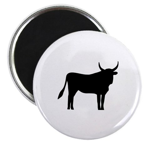 """Bull 2.25"""" Magnet (100 pack)"""