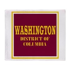 Washington DC Throw Blanket