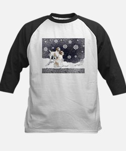 Jack Russells in the snow Tee