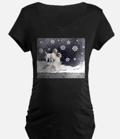 Jack Russells in the snow T-Shirt