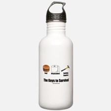 Keys to Survival Water Bottle