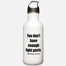 Light Posts Water Bottle