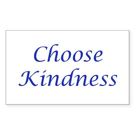 Choose Kindness Sticker (Rectangle)