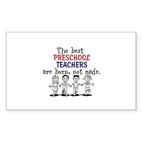 The best preschool teachers/kids skipping Sticker