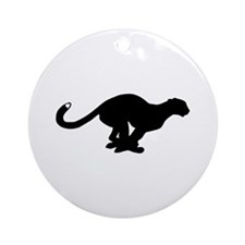 Panther Ornament (Round)