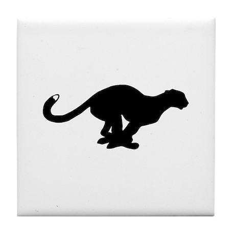 Panther Tile Coaster