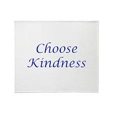 Choose Kindness Throw Blanket