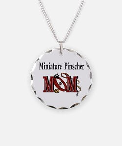 Miniature Pinscher Gifts Necklace