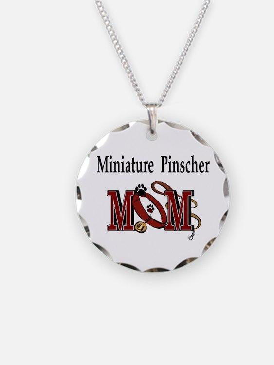 Miniature Pinscher Gifts Necklace