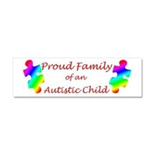Autism Family Car Magnet 10 x 3