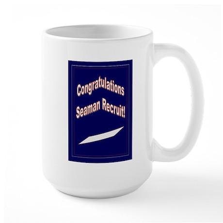 Seaman Recruit Congratulation Large Mug