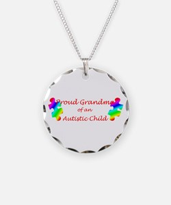 Autism Grandma Necklace