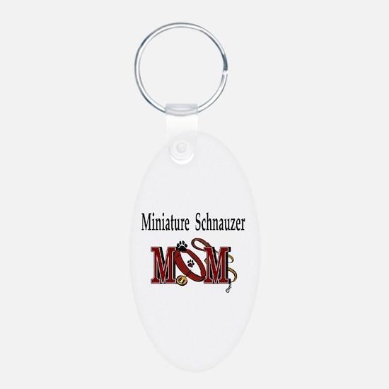 Miniature Schnauzer Gifts Keychains