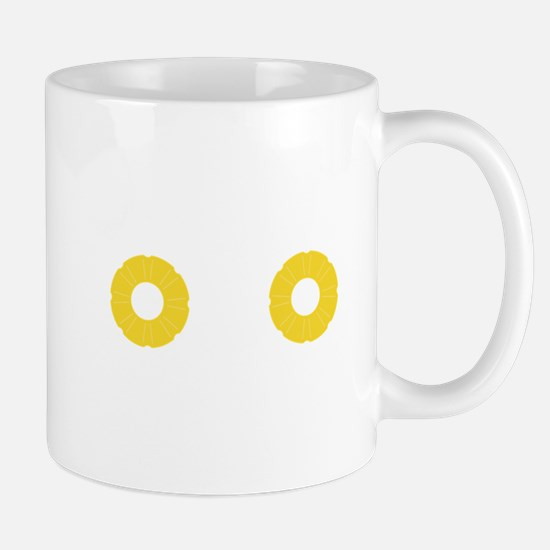 Pineapple Bra Ciqi4 Mugs