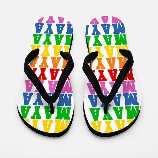 Cute Maya Flip Flops