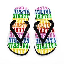 Cute Name valerie Flip Flops