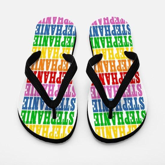 Funny Stephanie Flip Flops