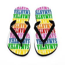 Funny Samantha Flip Flops