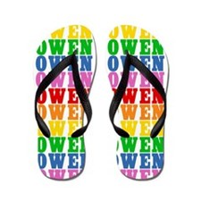 Unique Owen Flip Flops