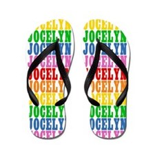 Unique Jocelyn name Flip Flops