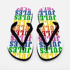 Cute Jules name Flip Flops