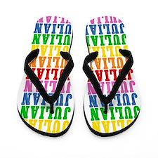 Cute Name julian Flip Flops