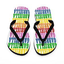 Cute Name gabriella Flip Flops