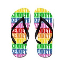 Cute Kenneth Flip Flops
