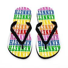 Funny Kenneth Flip Flops