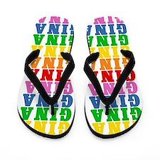 Unique Gina Flip Flops