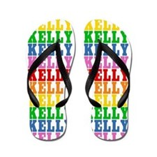 Unique Kelly Flip Flops