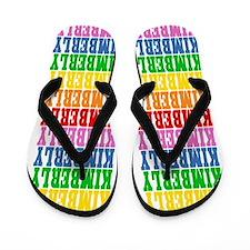 Funny Kimberly Flip Flops