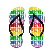 Funny Courtney Flip Flops