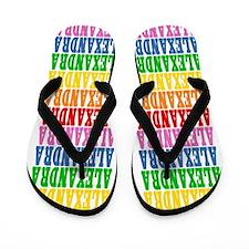 Funny Alexandra Flip Flops