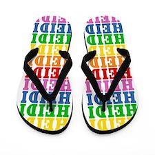 Cute Heidi Flip Flops
