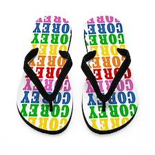 Funny Corey Flip Flops