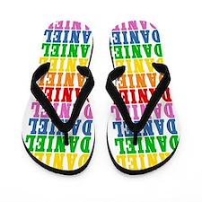 Cute Daniel name Flip Flops