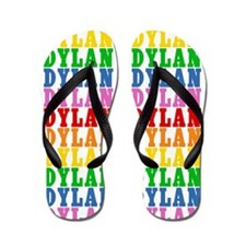 Unique Rainbows Flip Flops