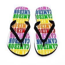 Cute Name cameron Flip Flops