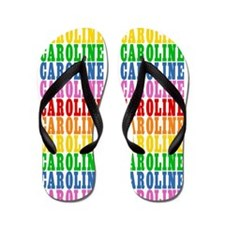 Cute Rainbows Flip Flops