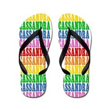 Unique Cassandra Flip Flops