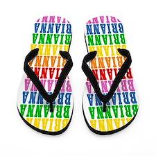 Funny Brianna Flip Flops