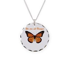 We Are All Unique: Butterfly Necklace