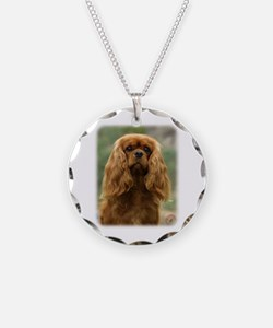 Cavalier King Charles Spaniel 9F51D-10 Necklace