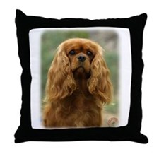 Cavalier King Charles Spaniel 9F51D-10 Throw Pillo