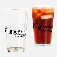 Gunpowder Gun Humor Drinking Glass