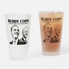 Obama Biden Buddy Cops Drinking Glass