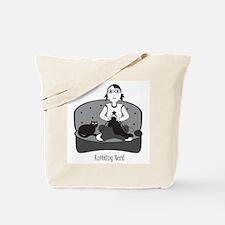 Knitting Nerd Tote Bag