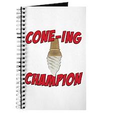 Cone-Ing Champion Ice Cream Journal