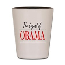 The Legend of Obama Shot Glass